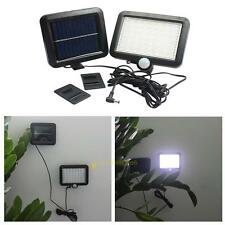 56 White LED Solar Power Motion Sensor Waterproof Outdoor Garden Security Lamp