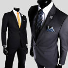 Luxury Men's Bridegroom Fashion Suits Jacket New Groomsmen Slim Fit Formal Coats