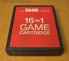 Atari 2600 - 16-IN-1 Spiel Modul - extrem selten - ultra rare - Game Cartridge