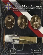 BLUE MAX AIRMEN - vol  2 :German Airmen awarded the Pour le Merite  SB BOOK
