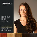 """Curly Clip In Hair Pieces 24"""" Wavy Style"""