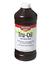 Tru-Oil 32oz 23132 Gun Stock Finish ~Birchwood Casey~ Truoil Wood Oil Protectant