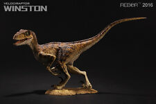 REBOR Velociraptor Alpha Male Winston 1:18 Scale Dinosaur Figurine **SECOND""""