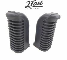 Yamaha Footrest Footpeg Covers Front Foot Rest Peg Rubbers XS 360 400 650