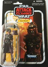 Star Wars Action Figure of ZAM WESELL ( VC 30) On Punched Vintage Card 3.75""