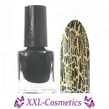 5ml Crackle Polish Cracked Nagellack Schwarz CL-2