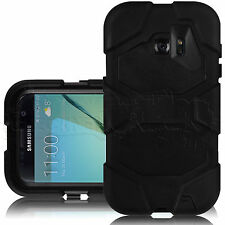 Black Shock Resistant Heavy Duty Survival Case for Samsung Galaxy S7 G930F Phone