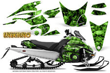 Yamaha FX Nytro 08-14 Graphics Kit CreatorX Snowmobile Sled Decals INFERNO G