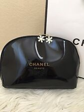Chanel Beaute Snowflake Cosmetic Makeup Bags Large Size VIP Gift USA Seller