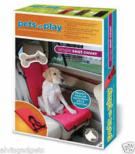 Pets At Play Car Single Seat Cover For Cat Dog Animal