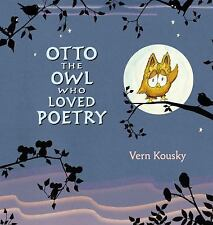 Otto the Owl Who Loved Poetry-ExLibrary