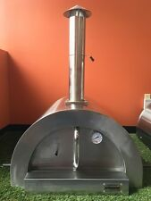 ilFornino® Mini Wood Fired Pizza Oven - Stainless Steel