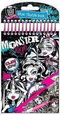 Monster High Mini Croquis Carnet De Coloriage Set Stickers Fête