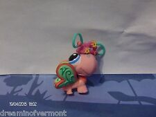 Littlest Pet Shop Pink Postcard Butterfly with crown #1357 New out of box