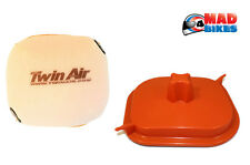 Twin Air Air box Washing Cover & Air Filter For KTM 250 350 EXC 2017 Models