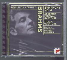 BERNSTEIN CD NEW BRAHMS SYMPHONY 4