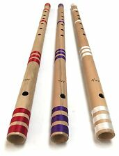 """Professional Concert Flute Scale AA/D 32"""" Bansuri Bamboo Transverse Top Quality"""