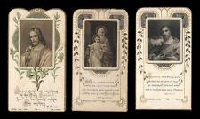 lotto santini-holy cards lot-lot images pieuses-konvolut heiligenbildichen n.48