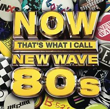 NOW THAT'S WHAT I CALL NEW WAVE 80'S CD - VARIOUS ARTISTS (2015) NEW