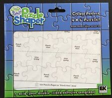 EK Success Puzzle Shaper Templates 5 Count *New*