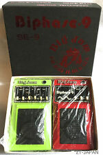 Big Jam Multivox SE-9 SE-11 Biphase 9 Jazz Flanger Phaser Vintage Effects MIJ