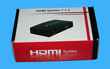 Maplin n48qk Hdmi 2 Way Splitter De Alta Calidad 1x2 Hdmi Splitter RRP £ 39.99 Reino Unido