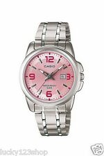 LTP-1314D-5A Pink Lady Casio Watches Stainless Steel Band Analog Brand-New