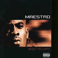 Built to Last by Maestro Fresh-Wes (CD, Aug-2002, Attic Records)