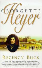 Regency Buck by Georgette Heyer (Paperback, 1991)