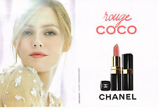 PUBLICITE ADVERTISING 014   2011   CHANEL  cosmétiques (2 pages)VANESSA PARADIS