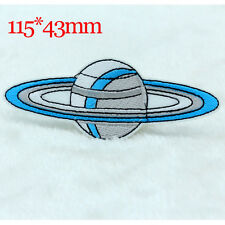 Satellite design Embroidery Iron on Patches Sew Appliques Embroidered Motif NEW