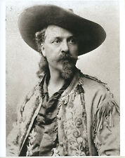 Buffalo Bill Portrait Buffalo Bill Cody Classic Photograph Buckskin Coat GREAT