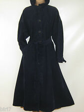 LAURA ASHLEY VINTAGE ENGLISH COUNTRY HIGH RUFFLE NECK CORDUROY COAT, 8-14