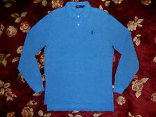 $92 Ralph Lauren Polo Mens Blue Shirt Size Small S Authentic Long Sleeve