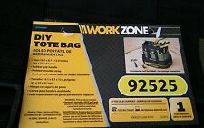 Work Zone DIY Tote Tools Bag