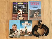Lot Training Your Dog Books & Dog Whisperer Season 1 DVD & Harness Well-Mannered