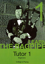 The College of Piping Highland Bagpipe Tutor 1