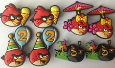 8 pcs Angry Birds Jibbitz Pin Fit Ornament Shoes Charms Decoration
