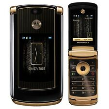Motorola MOTORAZR2 V8 Luxury Edition Gold Unlocked Cellular Phone GSM