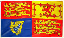 3' x 2' UK Royal Standard Flag Queen Elizabeth ll British Royalty Banner