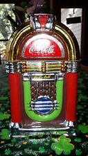 Gibson Cookie Jar With Original Box - Coke Coca-Cola JukeBox Rock N Roll