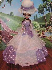"""16"""" Vintage Bradley Artmark  dress Big Eyes Hoop Skirt  Dress Doll"""