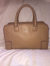 Authentic Loewe Limited Edition Ostrich Amazona