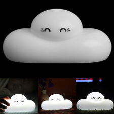 Portable Lovely Cloud Baby Children Nursey Touch Sensor Lamp LED Night Light USB