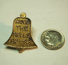 1982-1983 Shriners Commemorative Bell Pin Ring the Bells
