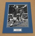 ALAN HUDSON IN CHELSEA SHIRT HAND SIGNED GENUINE AUTOGRAPH PHOTO MOUNT + COA