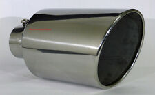 "Diesel Stainless Steel Bolt On Exhaust Tip 4"" Inlet - 8"" Outlet - 15"" Long"