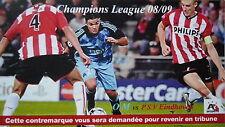 Karte UEFA CL 2008/09 Olympique Marseille - PSV Eindhoven