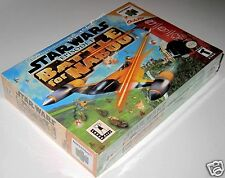 Star Wars: Episode I: Battle for Naboo..(Nintendo 64).. SeaLED!!