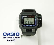 NOUVEAU VINTAGE CASIO COLLECTION CMD-10 NOS POIGNET MANETTE